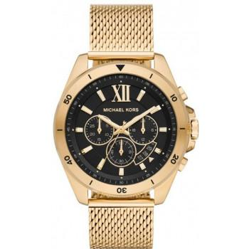 MICHAEL KORS Bayville Chronograph - MK8867,  Gold case with Stainless Steel Bracelet