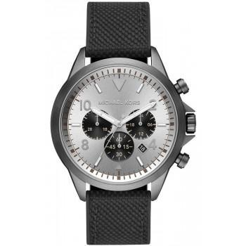 MICHAEL KORS Gage Chronograph - MK8787, Grey case with Black Rubber Strap