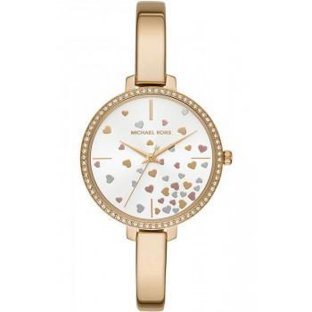 MICHAEL KORS Jaryn Crystals - MK3977,  Gold case with Stainless Steel Bracelet
