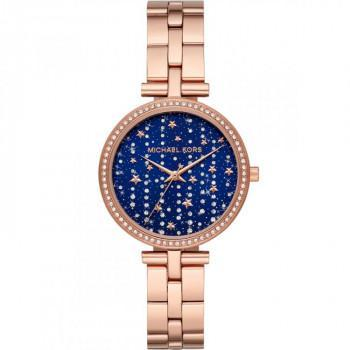 MICHAEL KORS  Maci Crystals - MK4451, Rose Gold case with Stainless Steel Bracelet