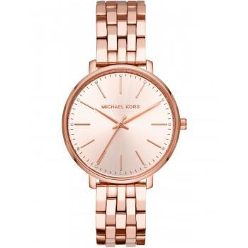 MICHAEL KORS Pyper Crystals - MK3897, Rose Gold case with Stainless Steel Bracelet