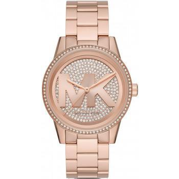 MICHAEL KORS Ritz Crystals - MK6863,  Rose Gold case with Stainless Steel Bracelet