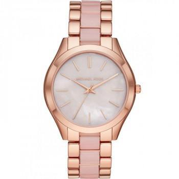 MICHAEL KORS Slim Runway - MK4467, Rose Gold case with Stainless Steel Bracelet