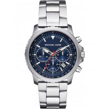 MICHAEL KORS Theroux  Men's Chronograph - MK8641,  Silver case with Stainless Steel Bracelet