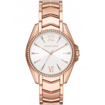 MICHAEL KORS Whitney Crystals - MK6694,  Rose Gold case with Stainless Steel Bracelet
