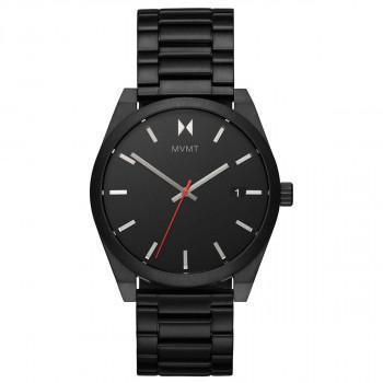MVMT Ash - 2800039-D,  Black case with Stainless Steel Bracelet