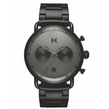 MVMT Chrono Midnight - BT01-BB,  Black case with Stainless Steel Bracelet