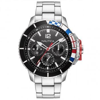 NAUTICA Bay Ho - NAPBHP908, Silver case with Stainless Steel Bracelet