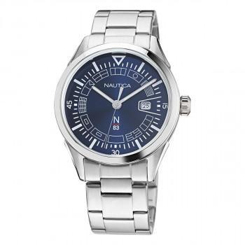 NAUTICA Cestos River - NAPCRF004, Silver case with Stainless Steel Bracelet