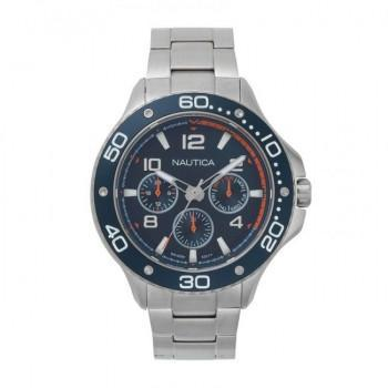 NAUTICA Pier 25 - NAPP25006, Silver case with Stainless Steel Bracelet
