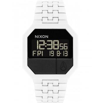 NIXON Re-Run - A158-126-00  White case with Stainless Steel Bracelet