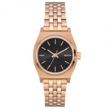NIXON Small Time Teller - A399-2598-00 , Rose Gold case  with Stainless Steel Bracelet