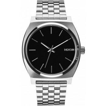 NIXON Time Teller - A045-000-00 , Silver case  with Stainless Steel Bracelet