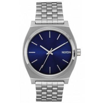 NIXON Time Teller - A045-1258-00 , Silver case  with Stainless Steel Bracelet