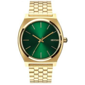 NIXON Time Teller - A045-1919-00 , Gold case  with Stainless Steel Bracelet