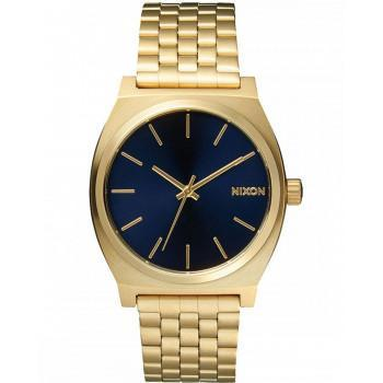 NIXON Time Teller - A045-1931-00,  Gold case  with Stainless Steel Bracelet