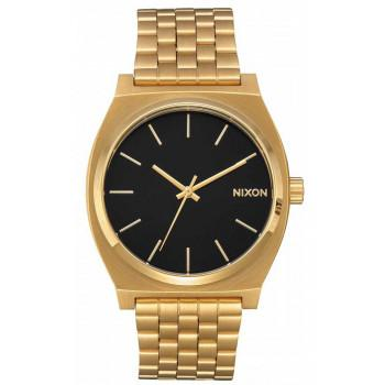 NIXON Time Teller - A045-2042-00 , Gold case  with Stainless Steel Bracelet