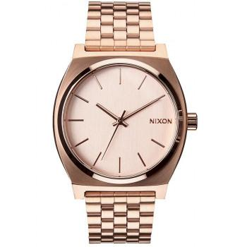 NIXON Time Teller - A045-897-00 , Rose Gold case  with Stainless Steel Bracelet