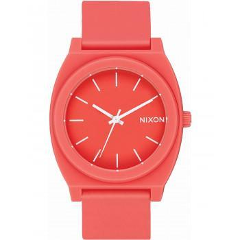 NIXON  Time Teller P - A119-3013-00 , Orange case  with Orange Rubber Strap