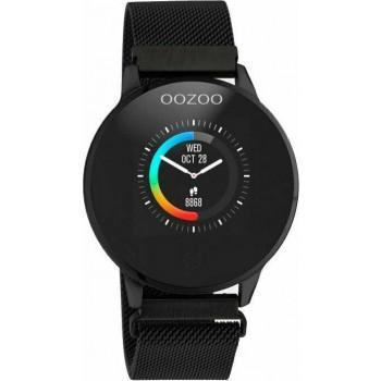 OOZOO Smartwatch -  Q00119,  Black case with Black Metal Strap