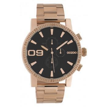 OOZOO Timepieces - C10708 Rose Gold case with Stainless Steel Bracelet