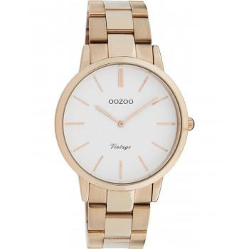 OOZOO Vintage - C20036, Rose Gold case with Stainless Steel Bracelet