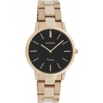 OOZOO Vintage - C20049, Rose Gold case with Stainless Steel Bracelet