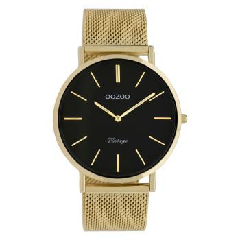 OOZOO Vintage - C9913,  Gold case with Metal Strap