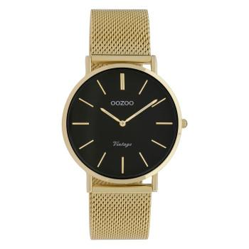 OOZOO Vintage - C9914,  Gold case with Metal Strap
