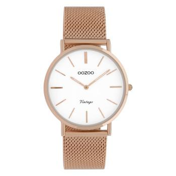 OOZOO Vintage - C9918,  Rose Gold case with Metal Strap