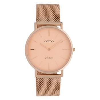 OOZOO Vintage - C9922,  Rose Gold case with Metal Strap