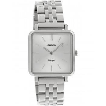 OOZOO Vintage - C9950, Silver case with Stainless Steel Bracelet