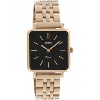 OOZOO Vintage - C9959, Rose Gold case with Stainless Steel Bracelet