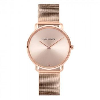 PAUL HEWITT  Miss Ocean Line - PH-M-R-RS-4S  Rose Gold case with Stainless Steel Bracelet