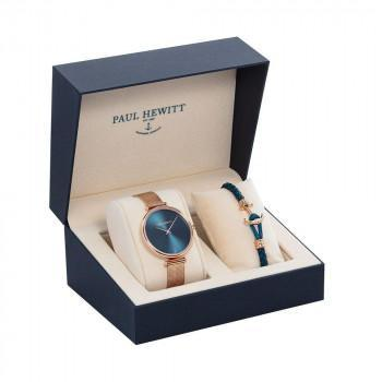 PAUL HEWITT Perfect Match Gift Set - PH-PM-20-L,  Rose Gold case with Stainless Steel Bracelet