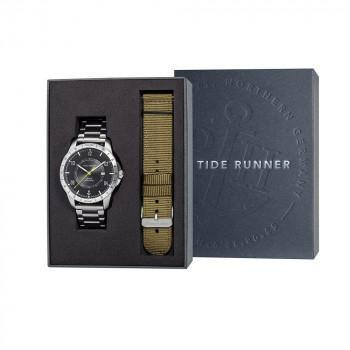 PAUL HEWITT Tide Runner Gift Set  - PH002831  Silver case with Stainless Steel Bracelet