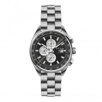 PAUL SMITH Chronograph  - PS0110014,  Silver case with Stainless Steel Bracelet