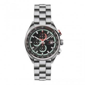 PAUL SMITH Chronograph  - PS0110015,  Silver case with Stainless Steel Bracelet