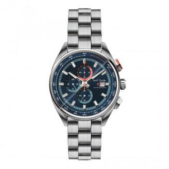PAUL SMITH Chronograph  - PS0110017,  Silver case with Stainless Steel Bracelet