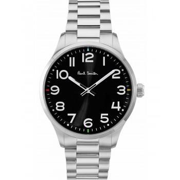 PAUL SMITH Tempo - P10064,  Silver case with Stainless Steel Bracelet