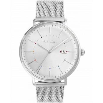 PAUL SMITH Track - P10086,  Silver case with Stainless Steel Bracelet
