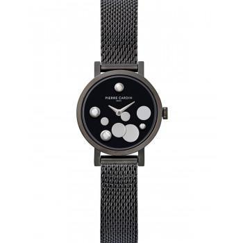 PIERRE CARDIN Canal St. Martin - CCM.0500, Black case with Stainless Steel Bracelet
