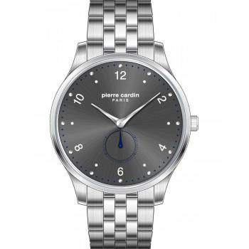 PIERRE CARDIN La Gloire Nouvelle  - PC902671F206,  Silver case with Stainless Steel Bracelet