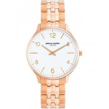 PIERRE CARDIN Ladies - PC902722F120, Rose Gold case with Stainless Steel Bracelet