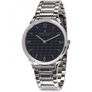 PIERRE CARDIN Pigalle  - CPI.2019,  Silver case with Stainless Steel Bracelet