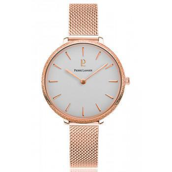 PIERRE LANNIER Caprice - 004G928  Rose Gold case with Stainless Steel Bracelet