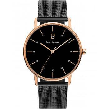 PIERRE LANNIER Classic - 203F039  Rose Gold case with Stainless Steel Bracelet