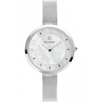 PIERRE LANNIER Classic  Ladies - 074K698,  Silver case with Stainless Steel Bracelet