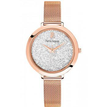 PIERRE LANNIER Crystals  - 097M908  Rose Gold case with Stainless Steel Bracelet