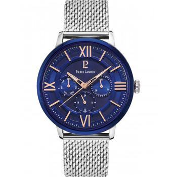 PIERRE LANNIER Gents - 253C168  Silver case with Stainless Steel Bracelet